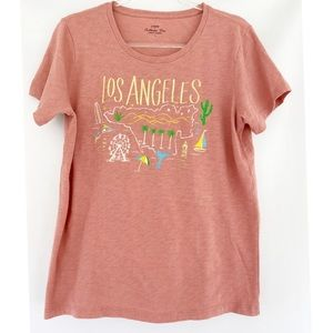 J. Crew Los Angeles Collector Tee